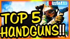 """TOP 5 BEST Handguns in Battlefield 1 For """"Fog of War"""" ~ BF1 Best GUNS (B..."""