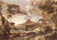 gaspard dughet | Gaspard Dughet RM1615-FI1675 : La parabola della Trinità