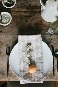 A Daily Something | Gatherings | A Simple Easter Table & Brunch Menu