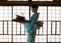 Japanese's Hospitality (omotenashi) - Kimono/Ryokan (Japanese-style Hotel)