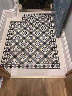 Cozy Victorian Small Hallway Floor Ideas Your hallway should be able to deal with numerous tasks Hall Tiles, Tiled Hallway, Dark Hallway, Upstairs Hallway, Entry Hallway, Hall Flooring, Porch Flooring, Flooring Ideas, Kitchen Flooring