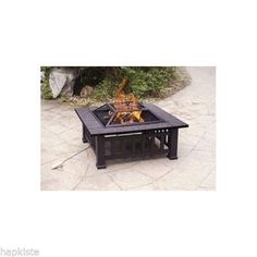 Fire Pit Outdoor Heating Outside Patio Heater  Garden Furniture Decor W Cover #forhim #giftsforhim http://www.ebay.com/itm/Fire-Pit-Outdoor-Heating-Outside-Patio-Heater-Garden-Furniture-Decor-W-Cover-/291213475395?pt=LH_DefaultDomain_0&hash=item43cdacfe43