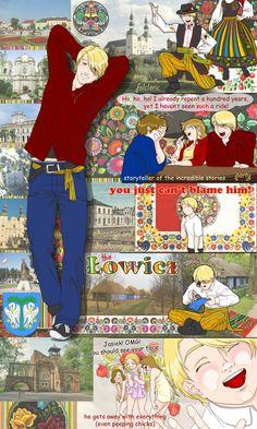 Lowicz by Janemin on DeviantArt Poland Hetalia, The Kiss, Hetalia Characters, A Hundred Years, Hetalia Axis Powers, Young Boys, Storytelling, Manga Anime, The Incredibles