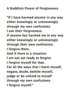 forgiveness   Good reflection. Quotes. Advice. Wisdom. Life lessons. Buddhist