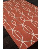 RugStudio presents Addison And Banks Flat Weave Abr0466 Poppy Flat-Woven Area Rug