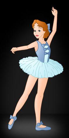 Disney Ballerina: Wendy by Willemijn1991.deviantart.com on @deviantART