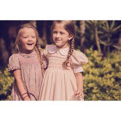 Best Friends wearing Candy Cotton Dresses