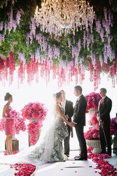 Wedding Ceremony Flowers ~