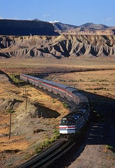 Amtrak's California Zephyr from Chico, California to Chareston, South Carolina. Returned on another from Washington D.C. up across the northern states to Seatle and back down to Chico.
