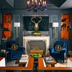 43rd Annual Atlanta Symphony Associates Decorators' Show House and Gardens - Transitional - Home Bar - other metro - by Habachy Designs
