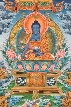 Vaiduryaprabharaja (The Medicine Buddha)