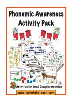 9 hands on activities for teaching isolating sounds, segmenting and blending. Great for small group instruction. 10 page teaching manual included.
