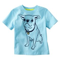 I absolutely love this adorable shirt. Even if i have a girl, I'm going to have to buy her t-shirts from the boy section every once in a while. So cute!
