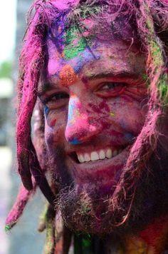 colorful smile!