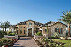 Luxury Homes Exterior Brick lakewood ranch luxury custom home model, again the casual dining
