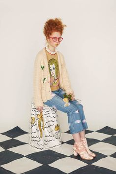 Fashion trends : Tsumori Chisato Pre-Fall 2019 Fashion Show Tsumori Chisato Pre-Fall 2019 Collection - Vogue Sharing is caring, don't forget to share ! French Fashion, Love Fashion, Fashion Design, Fashion Trends, Japanese Fashion, Fashion Show Collection, Fall Winter Outfits, Editorial Fashion, Street Style