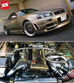 650HP Nissan Skyline GTR...