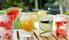 Aguas saborizadas refrescantes