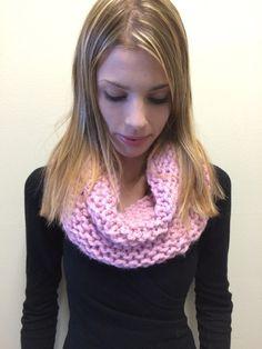 Chunky Knit Infinity Scarf  Raisa Scarf in by EterKnityCreations
