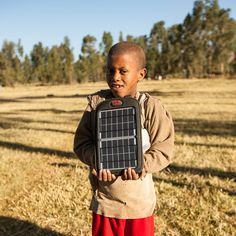 Happy customer from East Africa, #Fuse 4W solar charger.