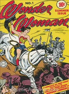 Wonder Woman #1 (1942) ($1,250 Very Poor but complete copy) ($53,000 for 8.5)