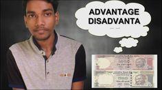 Banned Rs 500 & 1000 Notes | Advantages vs Disadvantages | Hindi/English...