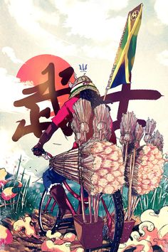 Illustrations Misc. 2013 by Taj Francis, via Behance