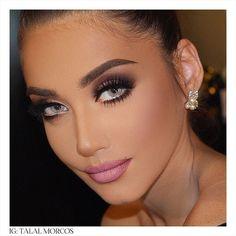 «Look into her angel eyes☺️ #talalmorcos #mua #2015»
