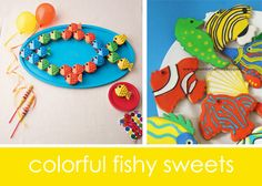 Colorful Fish Birthday Party Ideas | Project Nursery