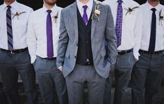 Here is my trendy nerd alert, I am loving this immensely! Suspenders add such a cool vibe to the men's wedding attire and it is also adorable on the littlest men in the wedding party.
