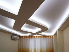 The latest pop design false ceiling for bedroom 2019 and how to choose the best option for your bedroom ceiling with plaster of paris, How to install pop ceiling design and how to finish it. Plaster Ceiling Design, House Ceiling Design, Bedroom False Ceiling Design, False Ceiling Living Room, Gypsum Ceiling, Gypsum Board Design, Plafond Design, Pop Design, Modern Ceiling