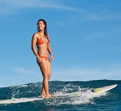 Kelia Moniz, ASP Women's World Longboard Champ! #longboard #surf