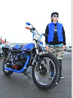 2000年式 カワサキ 250TR ストリートスナップ フカサーさん【STREET-RIDE】ストリートバイク ウェブマガジン