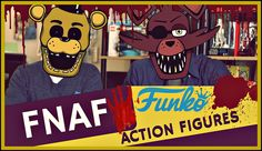 Five Nights at Freddy's Funko Action Figure Set One Unboxing