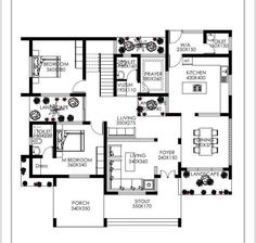 Super Home Studio Bedroom Apartment Layout 70 Ideas Free House Plans, Simple House Plans, House Layout Plans, Best House Plans, Duplex Floor Plans, Home Design Floor Plans, House Floor Plans, House Plans Mansion, Bedroom House Plans