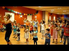 kids zumba - whip my hair @ashleegill