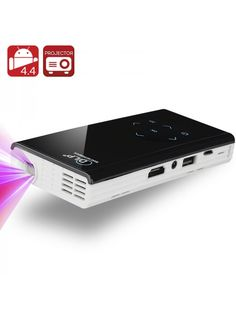 Enjoy a crystal clear display with this 120 lumen contrast DLP projector Versatile connectivity lets you display for all you m Pico Projector, Best Projector, Portable Projector, Quad, Projector Reviews, Projectors For Sale, Mobile Price, Latest Gadgets, Android 4