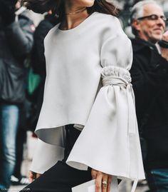 Bell-sleeve blouses for Spring