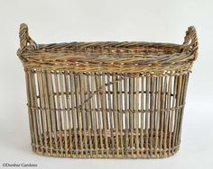 Fitched Willow Basket. Katherine Lewis