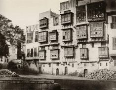 Apartment Buildings in Cairo, 1859, Photographer Unknown