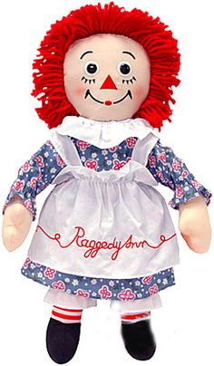 I loved my Raggedy Ann! I cherished her, until my sister ripped her arm off during a fight with me! lol!