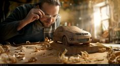 CGTalk - Woodworker - Mazda CX7, Dmitriy Glazyrin (3D)