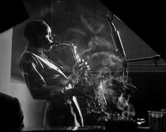 Sonny Stitt, New York City, 1953 (SNS01) - Herman Leonard - Artists - Jackson Fine Art - Photography - Atlanta