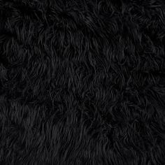 Faux Fur Mongolian Black from @fabricdotcom  This super soft high quality faux fur fabric has a 2 1/2'' long lustrous pile. It's perfect for stuffed animals, faux fur jackets and vests, pillows and throws.
