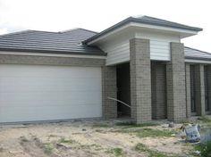 Facade House, House Facades, Brick Colors, Front Entry, House Colors, Entrance, New Homes, Exterior