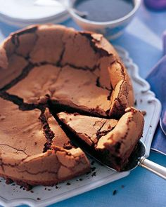 Chocolate Cake with Espresso Glaze Recipe