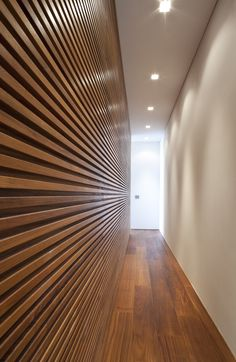 Ultra-Interior American Walnut Flooring and Wall Panelling Types Of Food, Own Home, Blinds, Interior Design, Architecture, House, Home Decor, Wall Panelling, Long Room