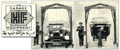 Old car gantry Old Cars, Garage, Carport Garage, Garages, Car Garage, Carriage House