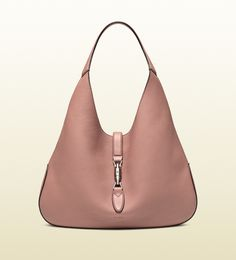 Gucci Jackie Antique Rose Soft Leather Hobo; $2,990.00