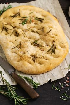 My Rosemary Focaccia Bread recipe is delicious as part of a sandwich or served with one of my favorite Mediterranean sheet pan meals. You will love it! via @jugglingactmama Focaccia Bread Recipe, Knead Bread Recipe, Best Homemade Bread Recipe, Rosemary Focaccia, Breakfast Bread Recipes, Italian Dinner Recipes, How To Make Sandwich, Bowl Of Soup, Waffle Recipes